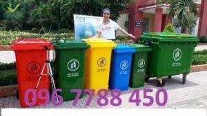 Thùng rác 240 lít giá rẻ toàn quốc
