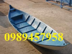 Thuyền ba lá, thuyền composite, thuyền gỗ, Thuyền chèo tay cho 2 người