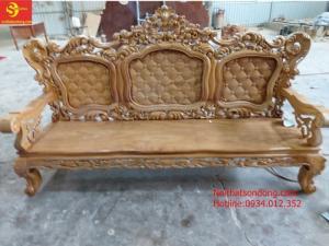 Bộ bàn ghế hoàng gia hương đá 06 món mẫu mới 2020