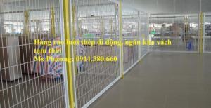 Hàng rào di động ngăn vách, ngăn kho tại Hà Nội