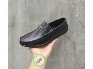 Giày lười nam giá rẻ chất liệu da bò