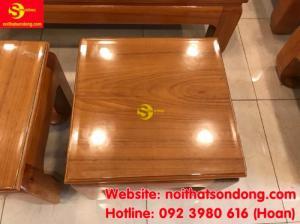 Bộ sofa chạm đào gõ đỏ chân móc 8 món tay 12 giá tại xưởng