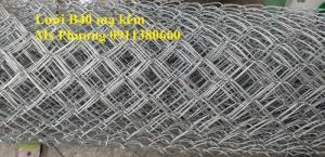 Hàng Rào Lưới B40 Dây Đan: 2.5Mm, 2.7Mm, 3Mm, 3.5Mm, Dạng Cuộn