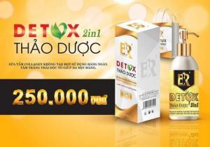 Detox thảo dược 2 in 1