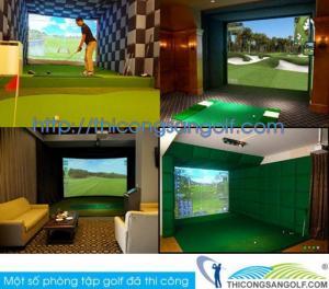 Thi công sân tập golf, sân golf, golf 3D và cung cấp thiết bị golf