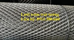 Lưới Trám Khổ Dây 2Ly, 1Mx10M, Ô 20 X40Mm, Dạng Cuộn Có Sẵn