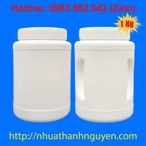 Hũ nhựa HDPE 100g, 500 g, 1 kg - Công ty TNHH Thương Mại – Sản Xuất Nhựa Thành Nguyên (Hotline 0983 892 042 (Zalo))