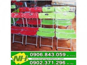 ghế xếp nhựa 3 lá giá rẽ