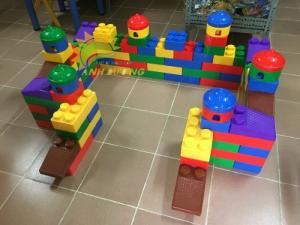 Chuyên cung cấp đồ chơi lắp ghép nhiều chi tiết cho trẻ em mẫu giáo, mầm non