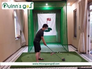 Bộ khung lều tập Swing/Driver dành cho Golfer tại Gia
