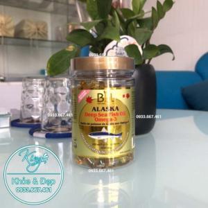 Dầu Cá Hồi Số 1 ALASKA, Deep Sea Fish Oil Omega-3 1000mg (Bill Natural Sources)
