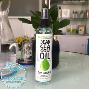 Dầu Magiê từ muối biển Chết - Magnesium Oil Spray - Large 240 ML (8 OZ)