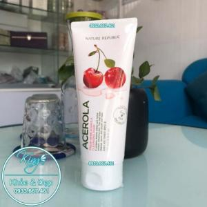 Sửa Rửa Mặt Nature Republic Acerola Fresh Herb Acerola Cleansing Foam