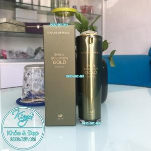 Tinh Chất Nature Republic Snail Solution Gold Essence