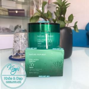 Kem Dưỡng Da Nature Republic Collagen 70 Dream Cream