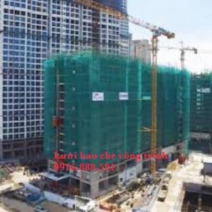 Lưới bao che công trình - Lưới bảo vệ - Lưới xanh.