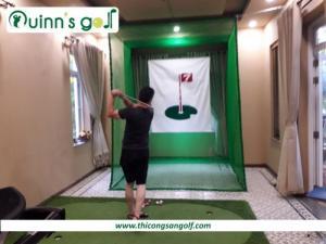 Bộ khung lều tập Golf tại nhà dành cho các Golfers