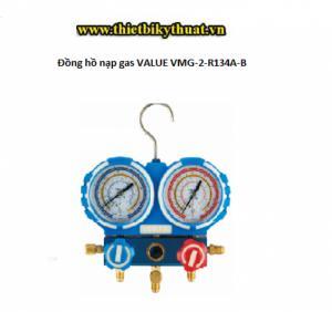 Đồng hồ nạp gas VALUE VMG-2-R134A-B