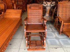 Ghế thư giãn massage gỗ hương Việt Nam 100%