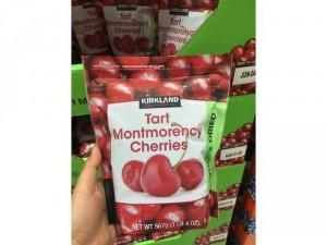 Cherry sấy khô Kirkland Tart Montmorency Cherries 567g của Mỹ