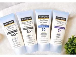 Kem chống nắng Neutrogena Ultra Sheer 88ml của Mỹ