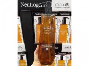 Sữa tắm Neutrogena Rainbath trị mụn lưng chai 1.18L tặng 1 chai dầu massage neutrogena oil
