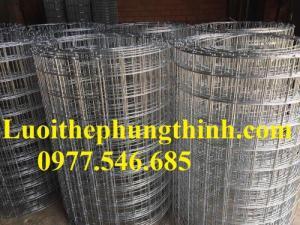 Lưới thép hàn mạ kẽm, lưới thép hàn giá rẻ - cty Hưng Thịnh