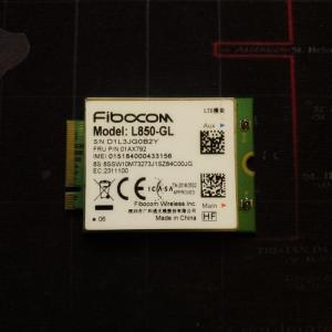 Fibocom L850-GL Card WWan 4G Cho Thinkpad X1 Gen6 T480 T480s P52 X380...FRU 01AX792