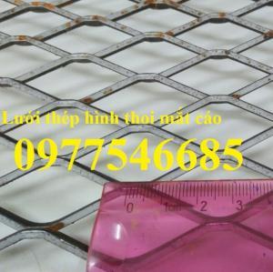Lưới hình trám, lưới thép dập giãn, lưới thép hình thoi hàng có sẵn