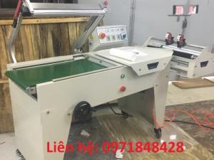 Máy cắt dán màng co tự động, máy cắt dán màng bọc, máy đóng gói màng co hộp, đồ dùng