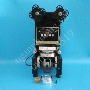 Máy dập nắp ly, dán miệng cốc tự động RC995-Black 360W