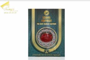 Trà nhụy hoa nghệ tây Iran 2gr-Saffron Iran check mã truy xuất nguồn gốc nhụy hoa nghệ tây