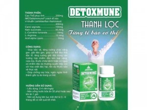 Giải độc gan – Detoxmune plus – Thanh lọc từng tế bào cơ thể