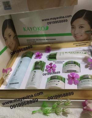 Bộ Mỹ Phẩm Cao Cấp Kayoko Nhật Bản gồm 6 sản phẩm