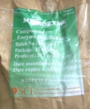 Nơi bán Microzyme, enzyme cắt tảo, xử lý nước Hàn Quốc giá sỉ