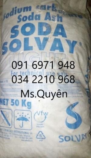 Nơi bán soda solvay, soda nóng Bungari tăng kiềm ao nuôi giá sỉ