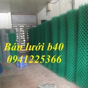 Lưới thép b40, lưới thép b40 bọc nhựa sản xuất theo yêu cầu