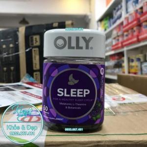 Kẹo Ngủ Olly Sleep For A Healthy Sleep Cycle 50 Viên