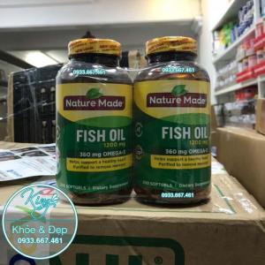 Viên Uống Dầu Cá Nature Made Fish Oil 200 Viên