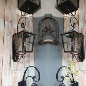 Đèn sân vườn cổ điển được sản xuất tại xưởng