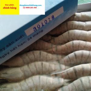 Tôm sú đông lạnh nhập khẩu chính hãng size 35 con