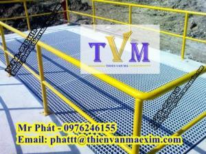 Công ty cung cấp tấm sàn frp grating toàn quốc