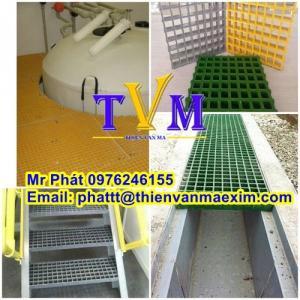 Công ty bán tấm sàn sợi thủy tinh kháng hóa chất