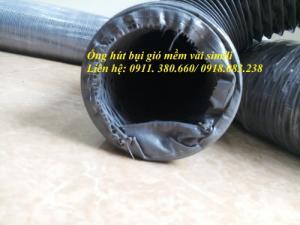 Ống Hút Bụi Gió Mềm Vải Simili D200, Hút Bụi Công Nghiệp