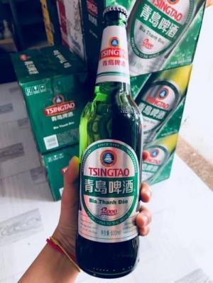 Bia Tsingtao chai 600ml, 12 chai
