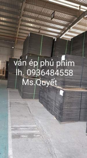 Ván ép phủ phim 12mm 15mm 18mm giá rẻ tại Hà Nội