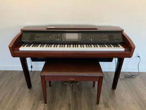 Đàn Piano Yamaha Cvp 307 Chính Hãng - Khát Vọng Musi