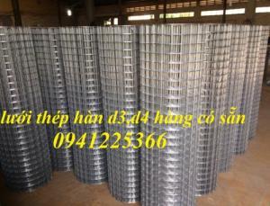 Lưới thép hàn phi 2,phi 3,phi 4 dạng cuộn ,dạng tấm giá rẻ tại Hà Nội