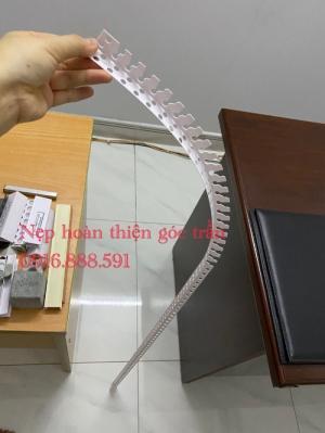 Nẹp góc trần thạch cao - Nẹp Nhựa V Bã Ma Tít Trần Thạch Cao Góc Vuông