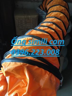 ống mềm simili cam mềm, dẻo dai , chịu nhiệt lên đến 80 độ C